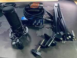 Audio Technica AT2035 Condenser Mic Setup! for Sale in Fort Worth, TX