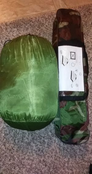 Tent and sleeping bag for Sale in Corona, CA