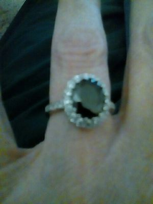 Sterling silver ring with swarvoski crystals for Sale in Baltimore, MD