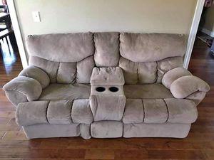Theater style micro fiber recliner for Sale in Murfreesboro, TN