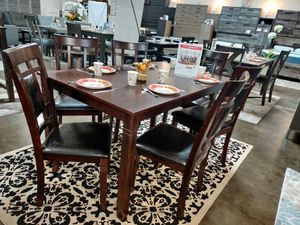 Dining Set 7 Piece, Espresso Color for Sale in Santa Ana, CA