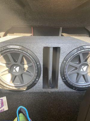 Kicker 2 12s for Sale in Longview, TX