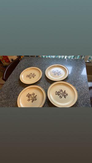 4 Pfaltzgraff Village dinner plates for Sale in Hammond, IN