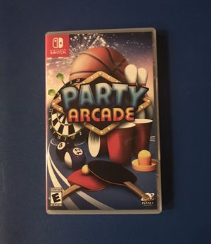 Party Arcade 🎱🏓 for Nintendo Switch for Sale in Snohomish, WA