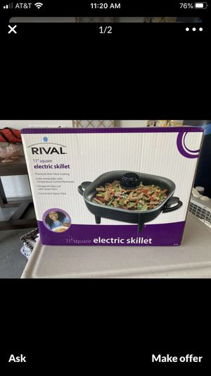 New in box electric skillet for Sale in El Centro, CA