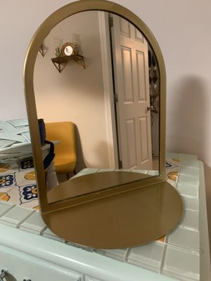 Gold Decorative wall Mirror for Sale in Belmont, NC