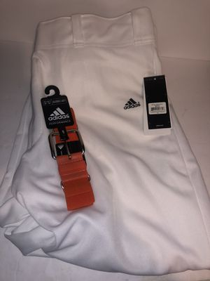 Adidas baseball ⚾️ pants with belt new size XL for Sale in Dublin, OH