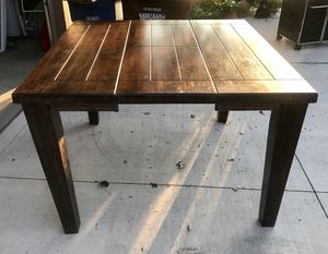 Dining table with four chairs and leaf for Sale in Columbus, OH