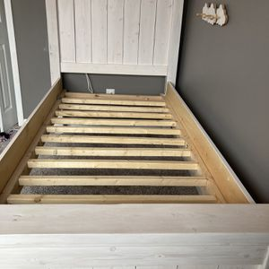 Custom Whitewashed Farmhouse Bed for Sale in Mableton, GA