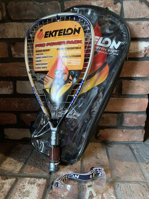 Pro racquetball racket w/ safety glasses for Sale in Naugatuck, CT
