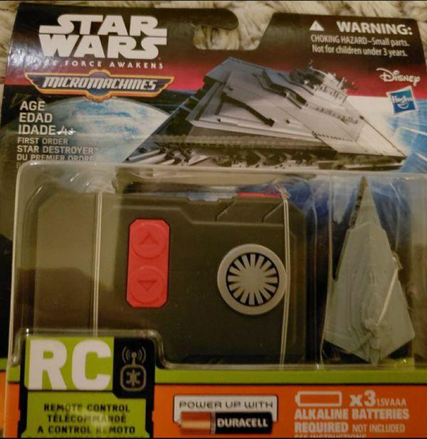 Disney Star Wars MicroMachine Destroyer