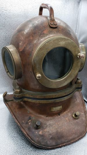 Diving helmet, scubadiving navy for Sale in Federal Way, WA