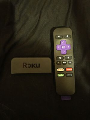 Roku Stick It Comes With The Cords And Adapter for Sale in Maple Heights, OH