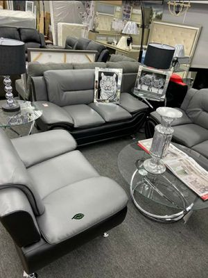 Special for Black Friday ‼ SALES SPECIAL] Matteo Gray/Black Living Room Set 280 for Sale in Jessup, MD