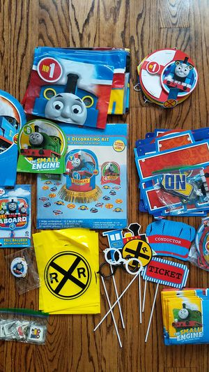 Thomas & Friends Birthday Party supplies for Sale in New York, NY