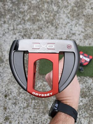 """Odyssey EXO Rossie 35"""" putter with original head cover for Sale in Tacoma, WA"""