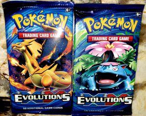 Sealed Pokemon EvolutionS 10 Card Booster Packs for Sale in Dayton, OR