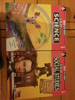 180 days of science and social studies for Sale in Fresno, CA