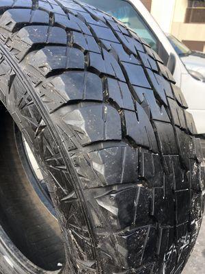 325/60R20 Falken All terrain tires (4 for $340) for Sale in Whittier, CA