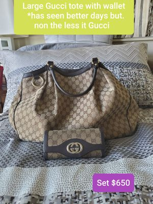 Gucci tote and wallet for Sale in Parker, CO