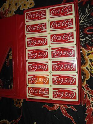 Coca Cola dominos for Sale in Abilene, TX