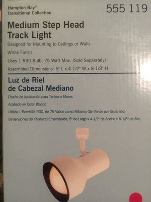 Medium step head track light for Sale in Chicago, IL