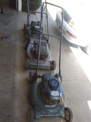 3 lawn mowers for Sale in Riverside, CA