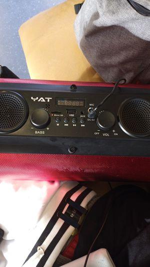 Yat bluetooth speaker for Sale in Oakland, CA