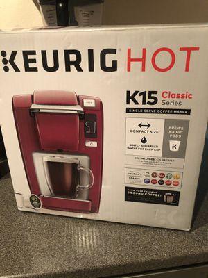 Keurig k15 coffee maker for Sale in Orlando, FL
