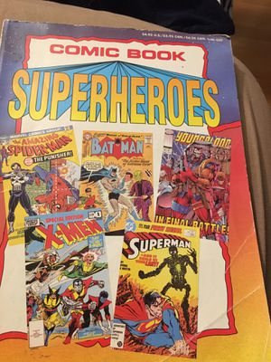 Comic book super heroes tpb 1994 for Sale in Los Angeles, CA