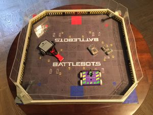 HexBug Battle Bots arena with 2 miniature robots, Tombstone and WitchCraft. for Sale in McLean, VA