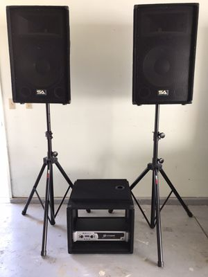 DJ Equipment for Sale in Riverbank, CA