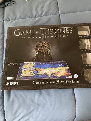 Game of thrones 4D puzzle for Sale in Berenda, CA