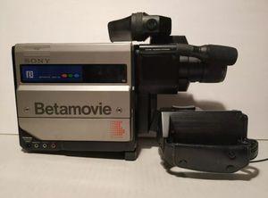 Vintage Sony Betamovie Camera Recorder BMC-110 W/ 54mm Lens UNTESTED AS-IS for Sale in El Centro, CA