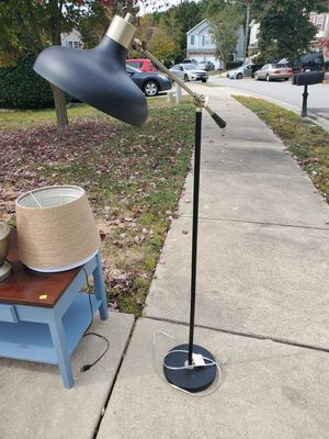 Industrial Metal Reading Lamp for Sale in Raleigh, NC