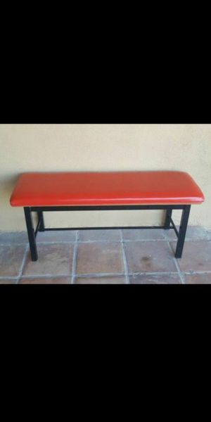 """bench metal and sponge 42"""" x 14"""" and 18"""" height some rips in the corners, but nothing important $45 for Sale in Mesa, AZ"""