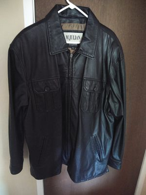 XL Wilson M.Julian leather men's jacket for Sale in Citrus Heights, CA