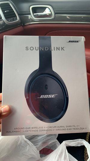 Bose soundlink Bluetooth headphones for Sale in Brandon, FL