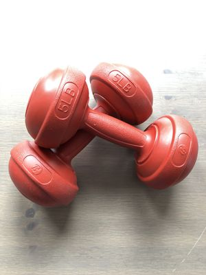 5lb & 10lb dumbbells for Sale in Watertown, MA