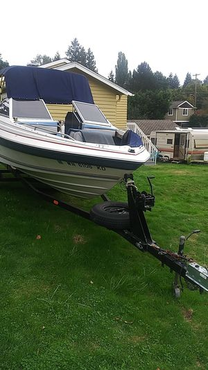Bayliner boat project and trailer for Sale in Seattle, WA