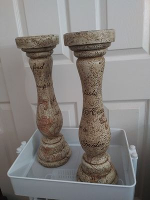 Centerpiece Candle Holders Pillar Candle Holders for Sale in Oakley, CA