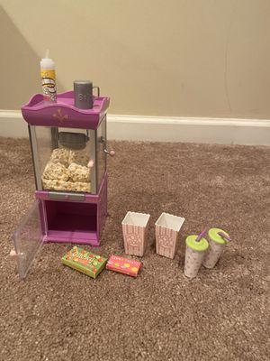 American girl popcorn machine for Sale in Middletown, OH