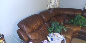 Curved sectional couch for Sale in Gibsonton, FL
