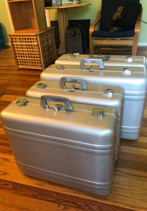 Haliburton Zero Centurion Elite industrial aluminum hard cases for Sale in Oradell, NJ