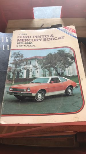 Cadillac manuals1950 to 78 ford pinto for Sale in East Saint Louis, IL