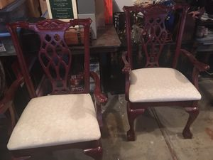 Two dining chairs for Sale in Beaverton, OR
