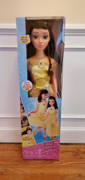 """My size Belle doll. 38"""" tall for Sale in Baltimore, MD"""