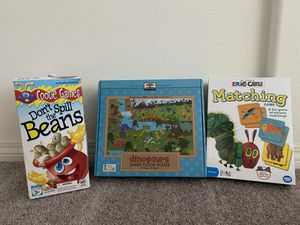 2 games, 1 giant puzzle - All for $10 for Sale in Winchester, CA