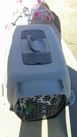 Dog crate with bed for Sale in Palmdale, CA