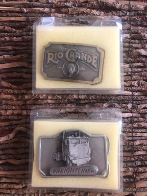 Belt Buckles Freightliner and RioGrande for Sale in Columbus, OH